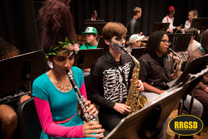 RRHS Fall Masquerade Band Concert Video Highlight