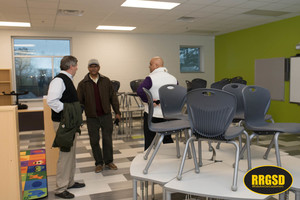 County Commissioners Tour New Manning