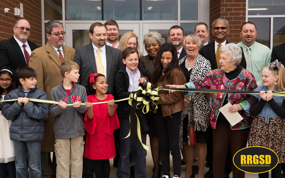 Ribbon Cut on New Manning Elementary