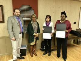 Two RRGSD Teachers Honored by Trustees