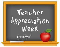 Teacher Appreciation Week at Belmont!