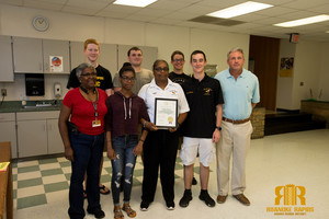 JROTC Instructor Honored by Governor