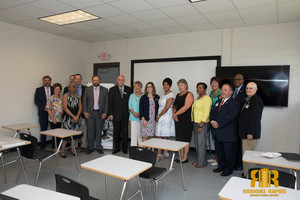 Governor's Office Visits RR Early College High School on Opening Day and Manning Elementary