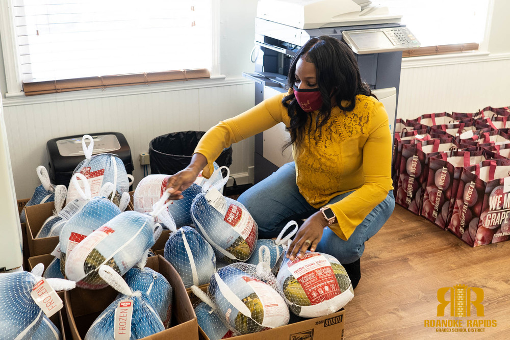 Feed A Family Project Provides Food to Needy RRGSD Families
