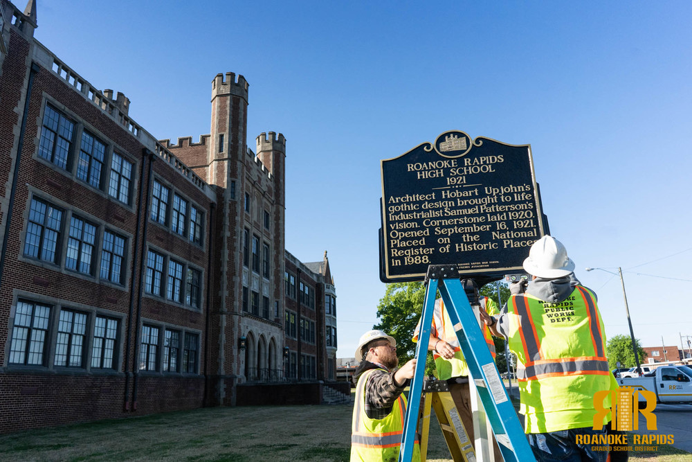 Historic Marker Installed to Celebrate RRHS 100th