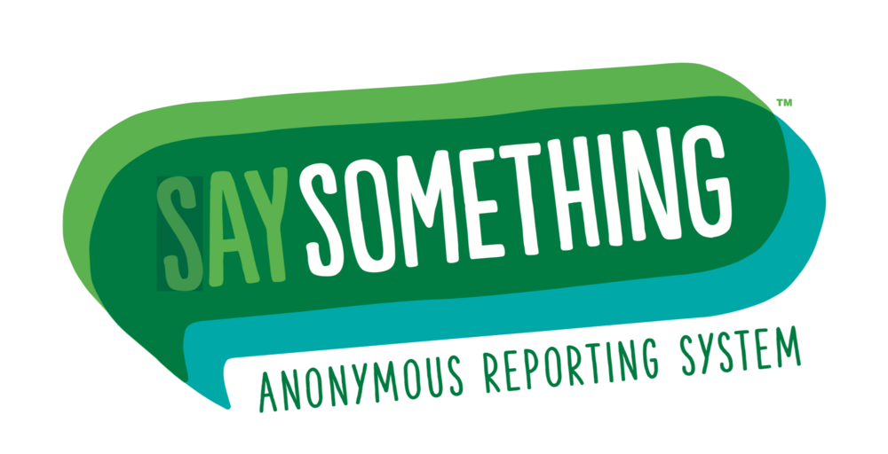 "RRGSD Launches ""Say Something"" Anonymous Reporting System"