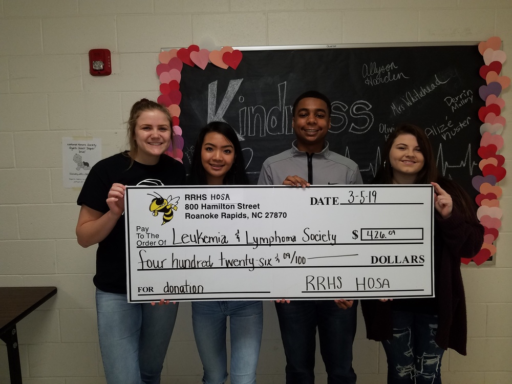 RRHS Students Raise Hundreds for Local Charities