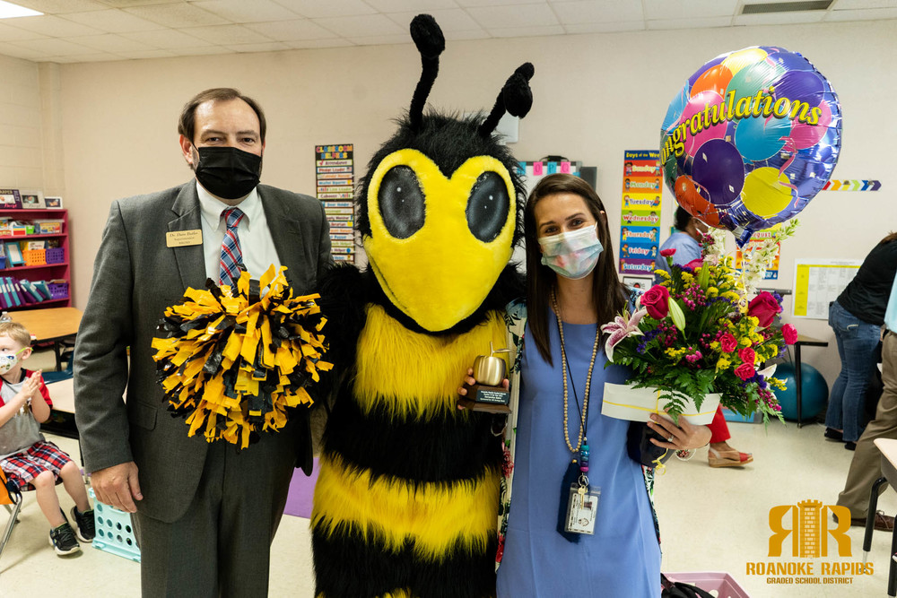 Prize Patrol Surprises Top RRGSD Educators and Employees