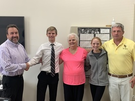 RRHS Student Receives Full Scholarship to ECU