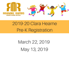 Clara Hearne Announces 2019-20 Pre-K Registration
