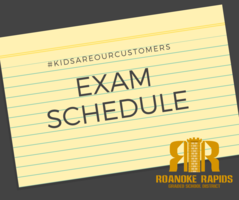 RRHS Spring Exam Schedule Announced