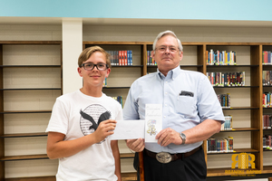 Chaloner 8th Grader Wins State Competition