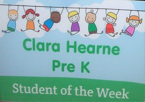 Clara Hearne Students of the Week