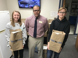 Students Helping Students Food Drive Helps 70 Families