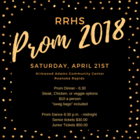 Prom Ticket Sales Announced