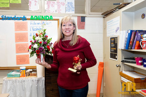 RRGSD Board Honors Chaloner Teacher with Apple of Excellence Award