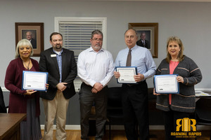 RRGSD Trustees Recognized for Training