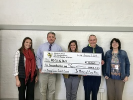 Former Teacher's Family Donates $10,000 to EC Program