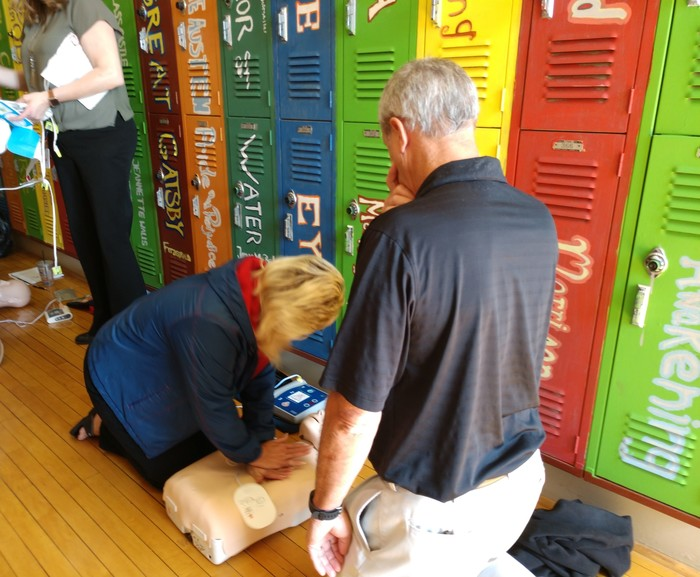 CPR Training at RRHS