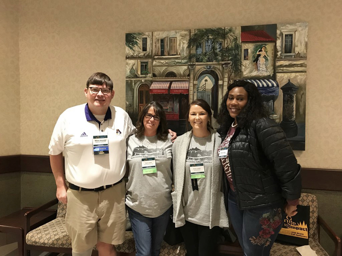 Counselors attend conference