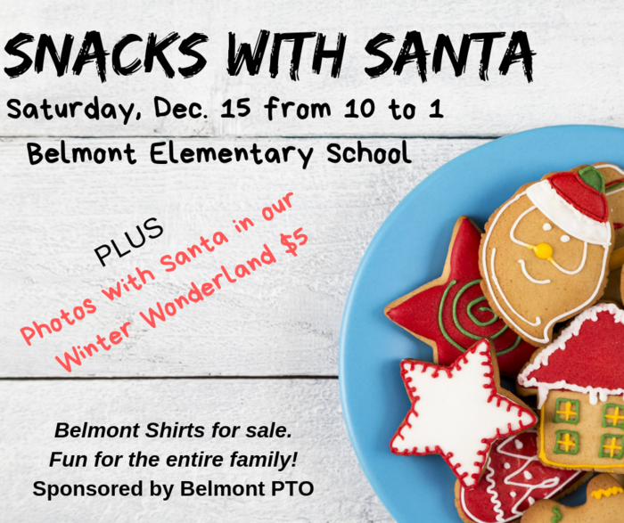 Snack with Santa PTO Event
