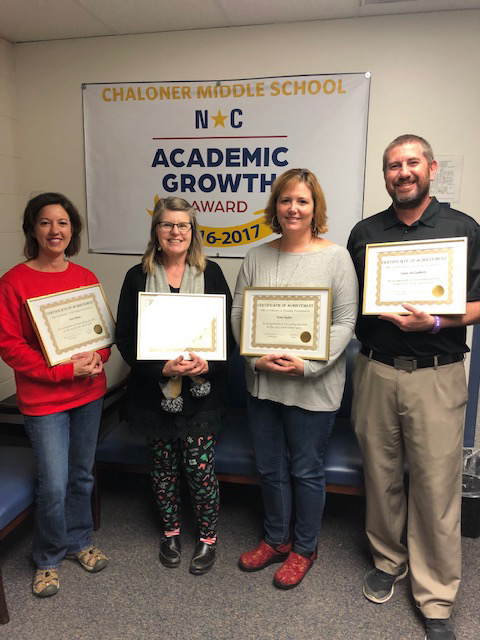 Academic growth teachers honored rrgsd