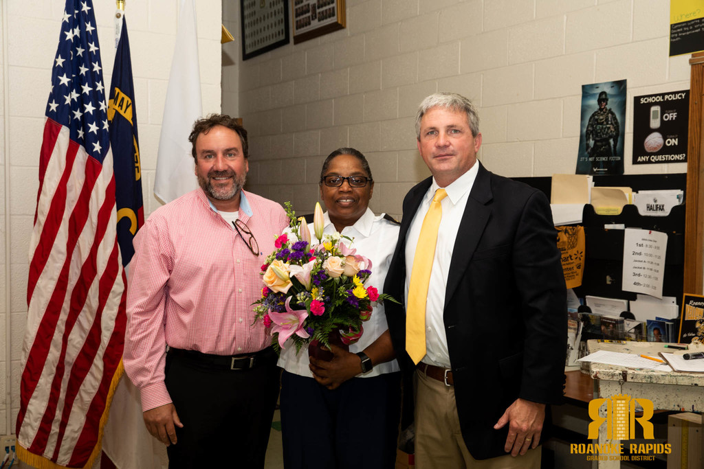 Bunch Named Teacher of the year