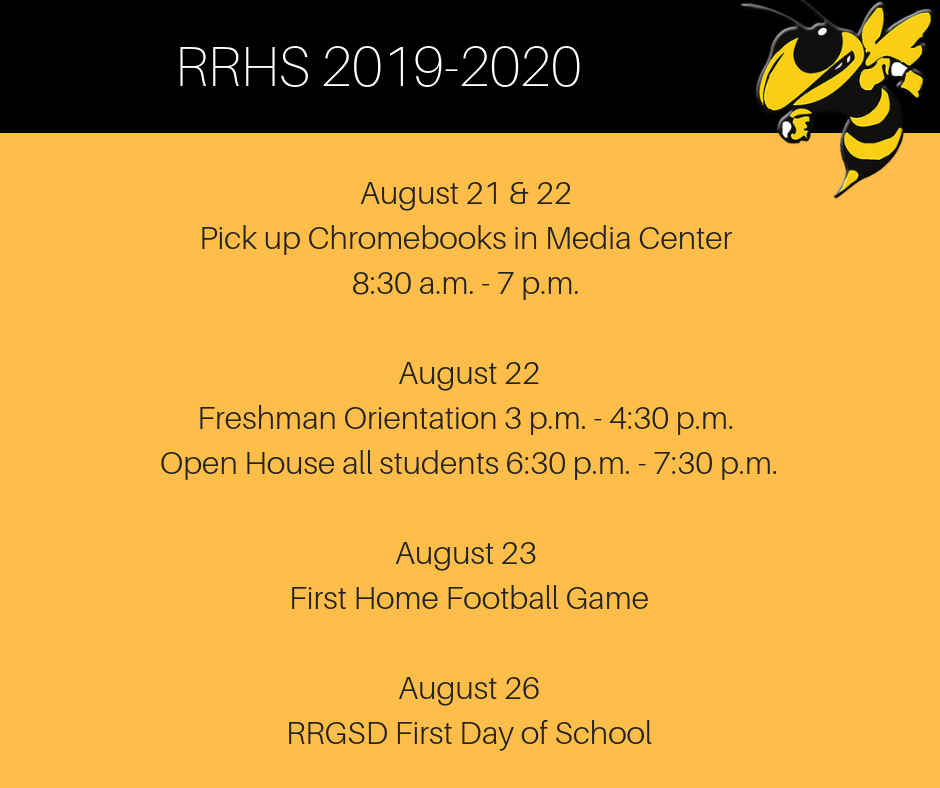 Upcoming Events at RRHS