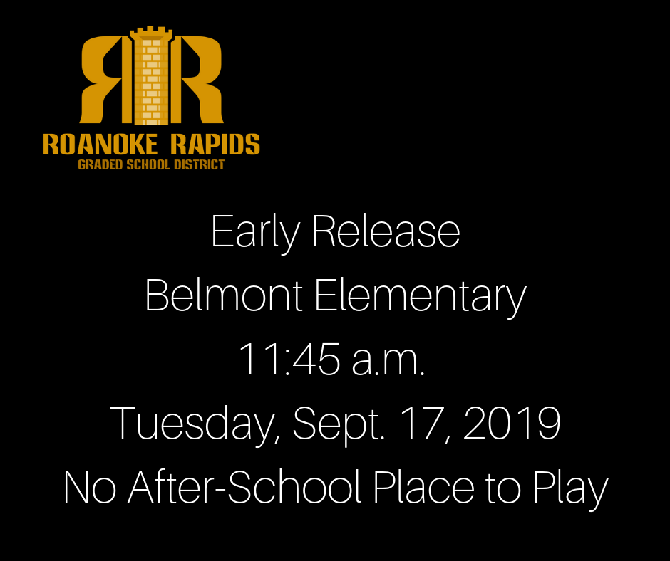 Early Release Belmont Only