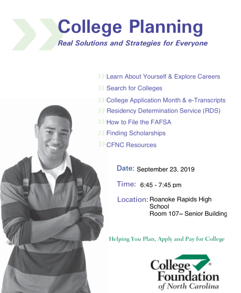 college foundation flyer
