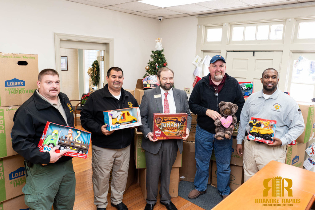 sheriff toy drive