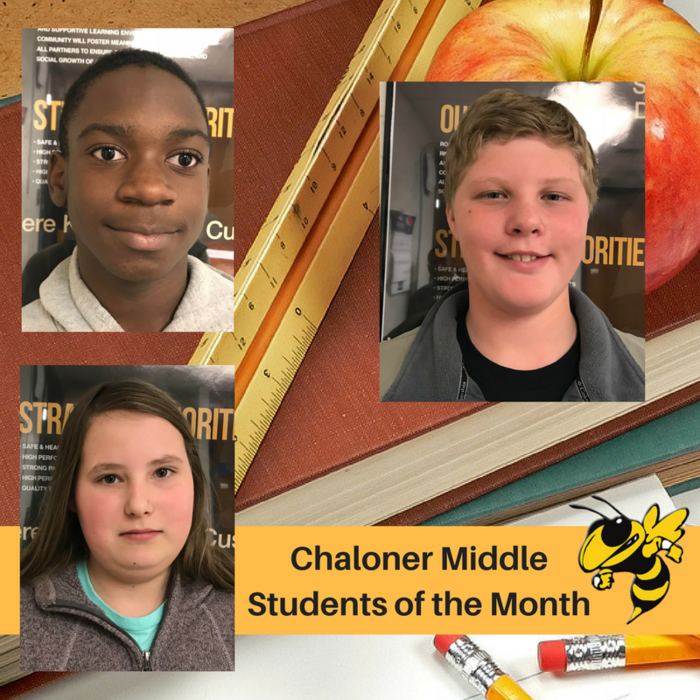 Students of the Month.